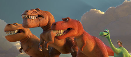 Bonding with T-Rex dinos
