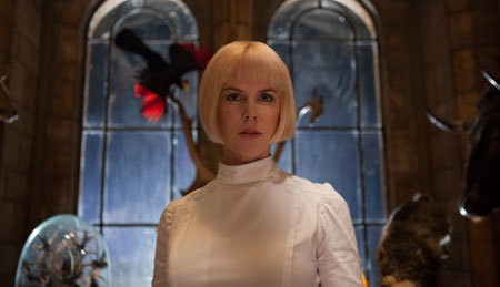 Nicole Kidman as the evil Millicent