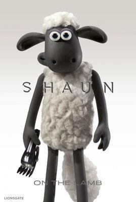 Parody Poster of Shaun as Bond in Spectre
