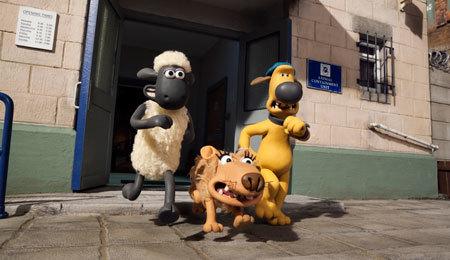 Shaun, Bitzer and dog Slip