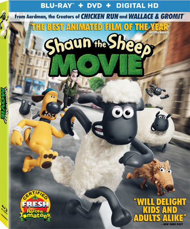 Shaun The Sheep Movie Blu-ray Cover