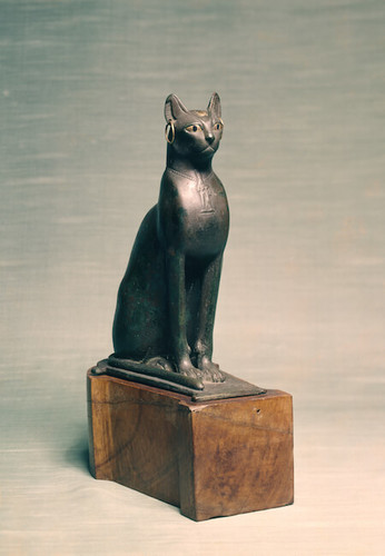 In Ancient Egypt, cats were considered sacred creatures.