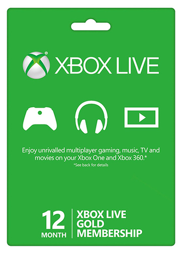 Play with friends online with Xbox Live!
