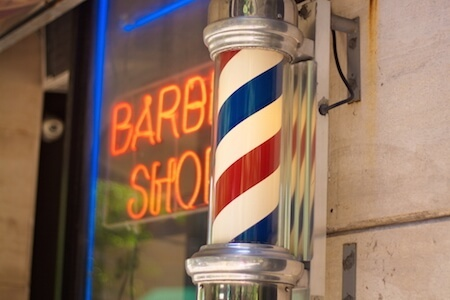 Regularly visit the barber shop for healthier hair.