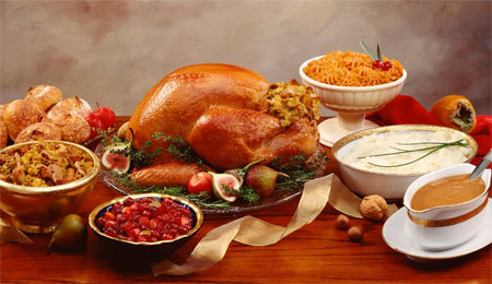 Turkey is a mainstay of modern Thanksgiving dinners