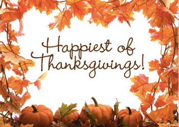 Happy Thanksgiving from Kidzworld!