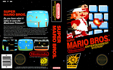 The original Super Mario Bros. came out in 1985!