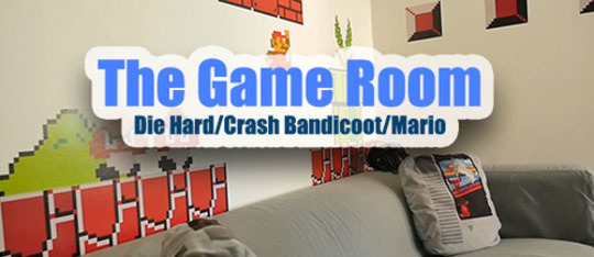 The Game Room #2: Die Hard, Crash Bandicoot and Mario