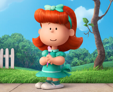 The much-loved little red-haired girl