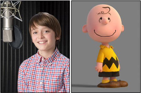Noah Schnapp who voices Charlie