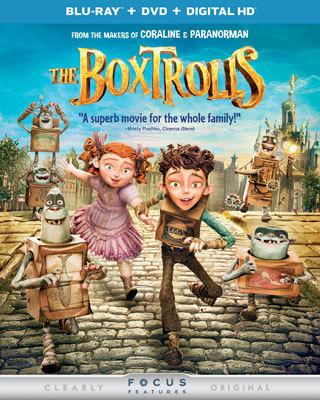 The Boxtrolls Blu-ray Cover