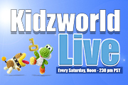 Kidzworld Live: Let's Play Yoshi's Woolly World