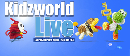 Join us on Saturday for some Yoshi's Woolly World! Live on Twitch!