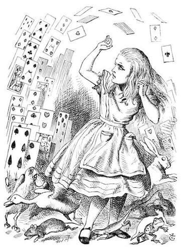One of Neil Gaiman's favorite books is Alice in Wonderland.