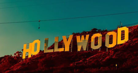 Who knew there was more to the Hollywood sign?