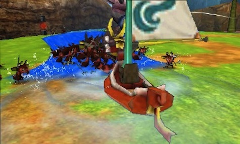 Wind Waker gets some love in Hyrule Warriors Legends!