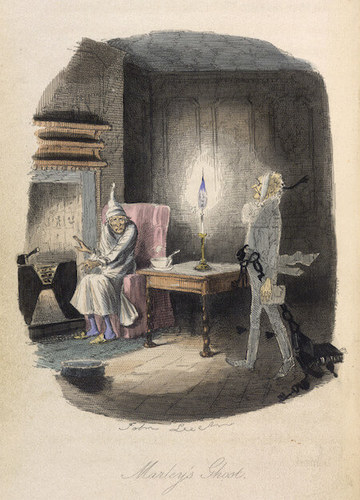 This is one of John Leech's original illustrations from the first published copy of the book!