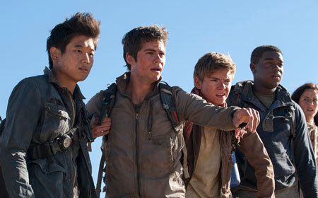 Gladers searching for clues about the mysterious and powerful WCKD
