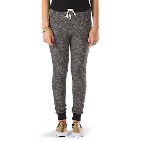 These snuggly sweatpant leggings look so comfortable!