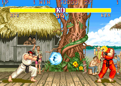 The jump in quality from Street Fighter I to Street Fighter II is incredible.