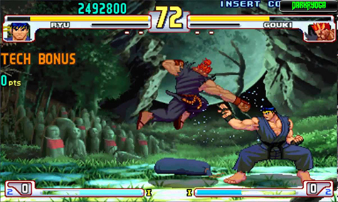 Street Fighter III was a great entry but not among many people's favorites.