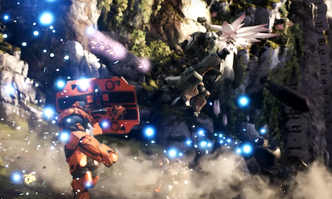 Paragon is the prettiest MOBA yet.