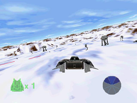 The first great Battle Of Hoth Level.