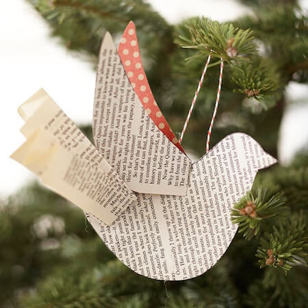 Try making your own Christmas ornaments!