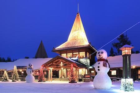 Some say Rovaniemi is Santa's true home!
