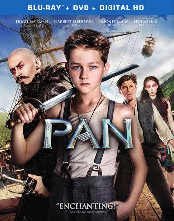 Pan Blu-ray cover