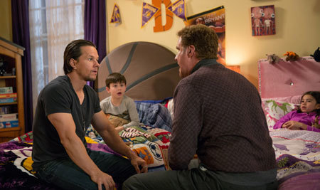 The dads discuss bedtime rituals
