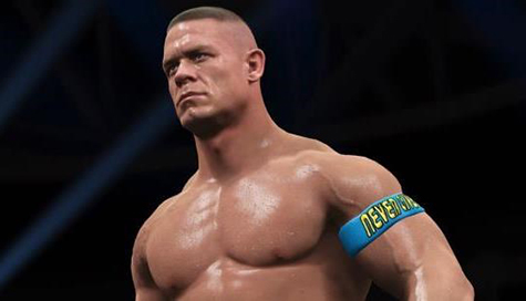 John Cena is ready to rumble!