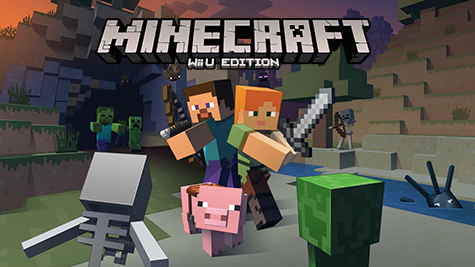 It's about time! Minecraft is coming to Wii U!