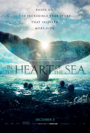 In the Heart of the Sea movie poster