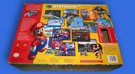 I would just stare at the back of the box and imagine playing the games.