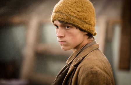 The teen cabin boy (Tom Holland)