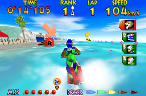 The water graphics and physics were amazing.