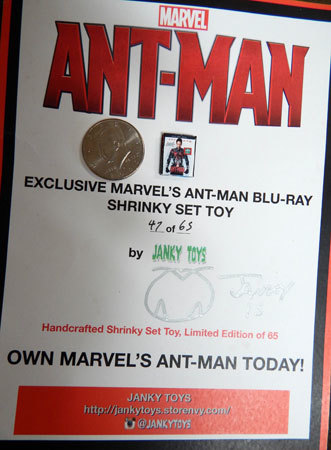 Kidzworld received this cool limited edition Mini-Blu-ray!