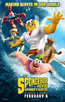 SpongeBob: Sponge Out of Water Poster