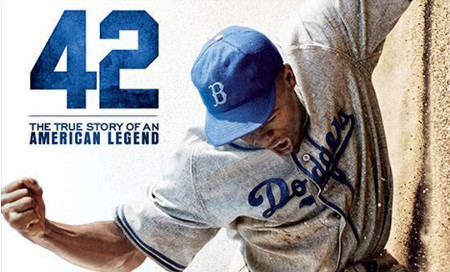 Jackie Robinson broke the color barrier in professional baseball