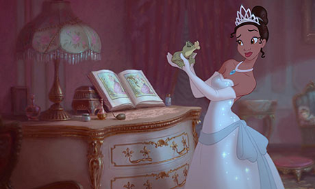Tiana is the first African American Disney princess