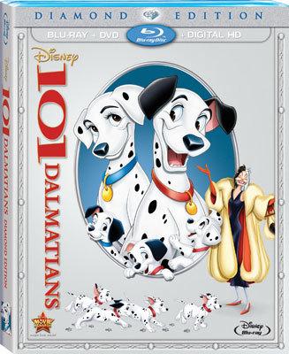 101 Dalmatians Diamond Edition Blu-ray