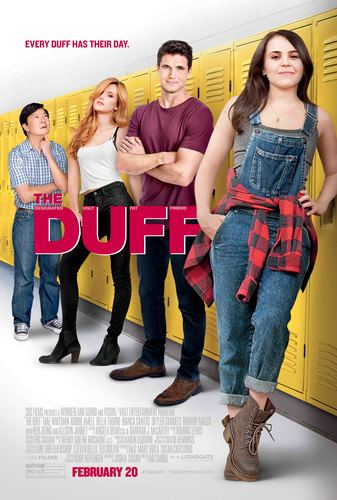 The Duff Poster with Robbie in center