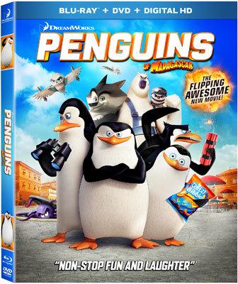 Penguins Of Madagascar Blu-ray