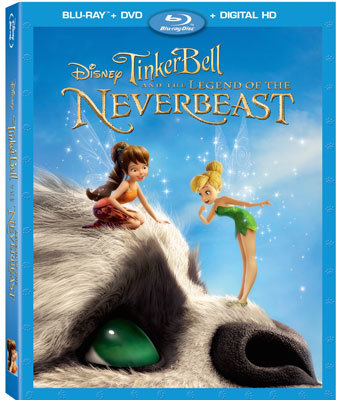 Tinker Bell and the Legend of the NeverBeast Blu-ray