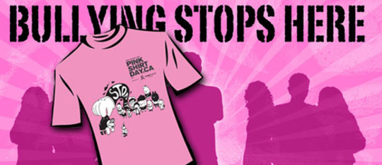 Take a Stand Against Bullying on Pink Shirt Day 2015