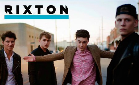 Rixton is four lads from Manchester