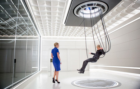 Tris trapped in Jeanine's simulation chamber