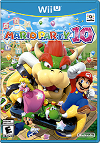 Mario Party 10, available only on Wii U