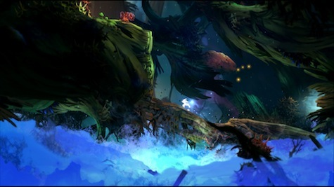 Screenshots don't do it justice. Ori and the Blind Forest is gorgeous in action.